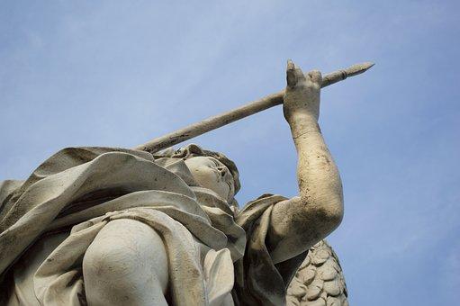 Angel, Rome, Castel Sant'angelo, Italy, Statue