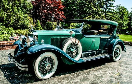 Cadillac, Dual Cowl Phaeton, Retro, Antique, Classic