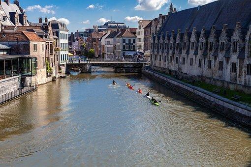Ghent, Belgium, Architecture, Building, Europe, Tourism