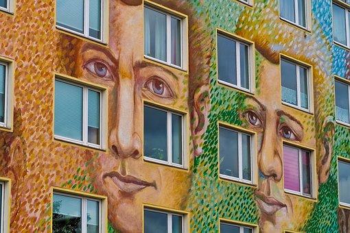 Facade, Architecture, Building, City, Window