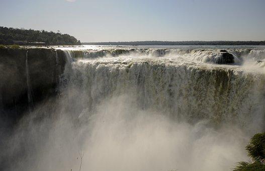 Iguasu, Argentina, Nature, Brazil, Water, Stream