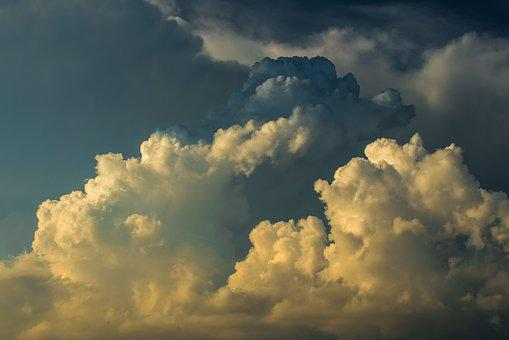Clouds, Cumulus, Sky, Atmosphere, Weather, Dramatic