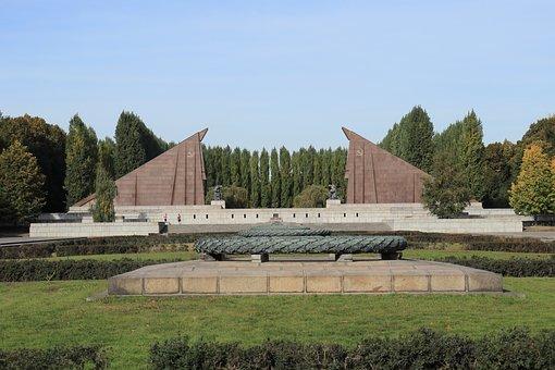 Soviet War Memorial, Berlin, Capital, Germany, History
