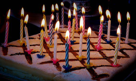 Celebration, Cake, Birthday, Sweet, Candles, Happy