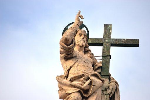 Santo, San Pietro, Cross, Religion, Blessing, Church