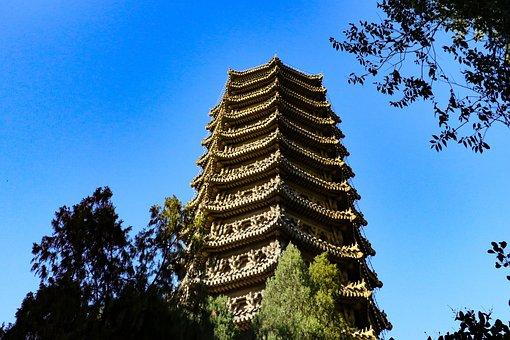 Boya Tower, Beijing University, Ancient Architecture