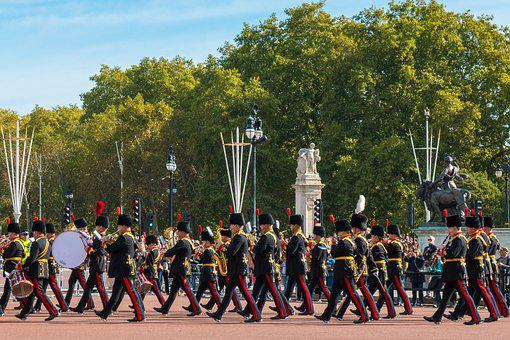 England, London, Brexit, March, Changing The Guard