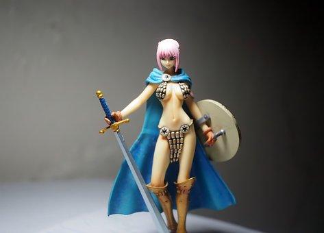 Lady, Female, Adult, Japanese, Anime, Cartoon