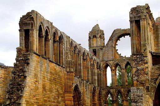 Elgin, Elgin Cathedral, Cathedral, Ruin, Scotland