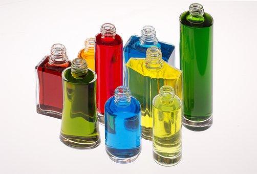 Bottles, Color, Perfume, Ideas, Concept, Glass
