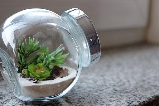Miniature, Minimalist, Glass, Design, Interior