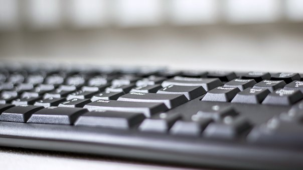 Keyboard, Computer, Pc, Desk, Technology, Laptop