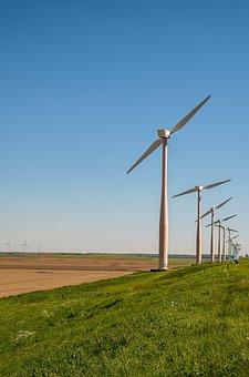 Energy, Wind Mill, Wind, Heaven, Landscape, Wind Energy