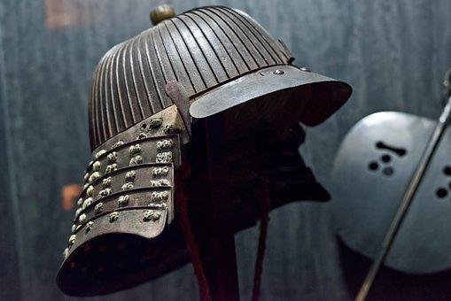 Helmet, The Warring States Period, Fight, Japan