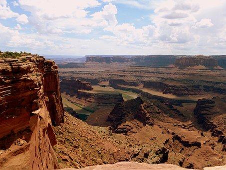 Nature, Canyon, Park, America, Landscapes, River