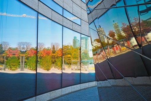 Architecture, Glass, Modern, City, Reflection