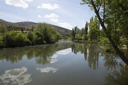 River, Landscape, Nature, Beautiful, Trees, Panorama
