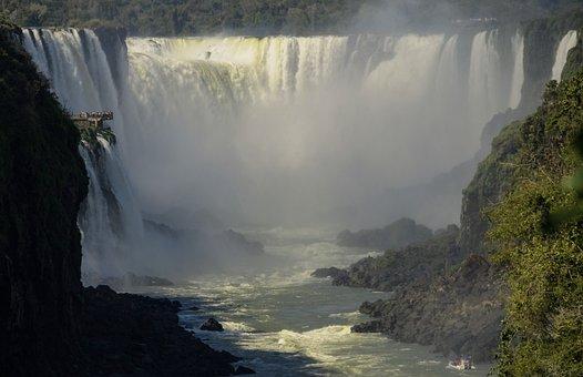 Iguasu, Argentina, Water, Parana, Nature, Stream