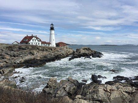 Portland, Maine, Portland Head Lighthouse, Lighthouse