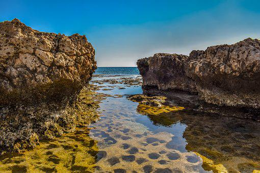 Rocky Coast, Sea, Nature, Landscape, Rock, Rocky