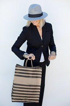 Shopping, Woman, Shopping Bag, Shop, Fashion, People