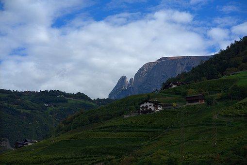 South Tyrol, Tyrol, Mountains, Mountain, Italy