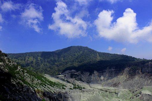 Mount, Tangkuban, Parahu, Bandung