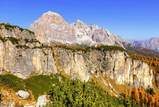 Tofane, Dolomites, Nature, Sky, Alpine, Italy