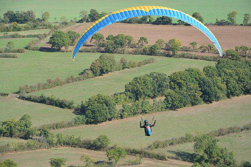 Paragliding, Paragliders, Sailing, Wing Ozone Rush 5