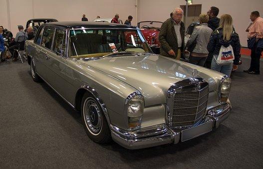 Mercedes, W100, Oldtimer, 600, State Karosse