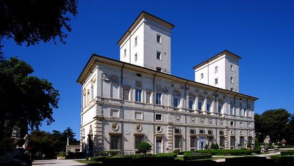 The Borghese Gallery, Caravaggio, Rome, Italy, Art