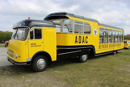 Adac, Automobile Club, Oldtimer, District