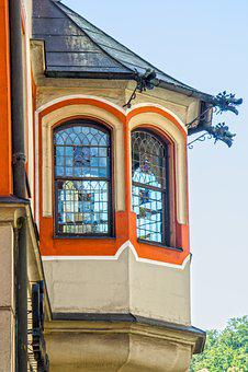 Bay Window, Parlour Bay Window, House Painting