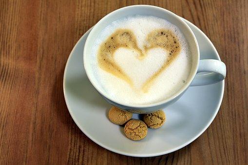 Cappucino, Coffee, Drink, Caffeine, Beverages