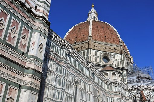 Florence, Cathedral, Architecture, Italy, Church