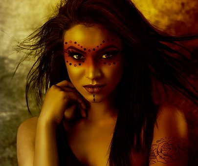 Halloween, Woman, Creepy, Dark, Witchcraft, Magic