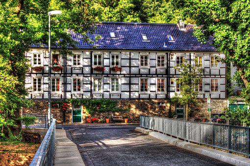 Hdr, Fachwerkhaus, Radevormwald, Dahlerau, Truss, Old