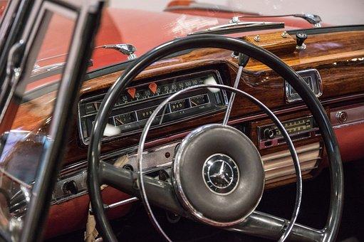 Mercedes, Speedometer, Dashboard, Automotive