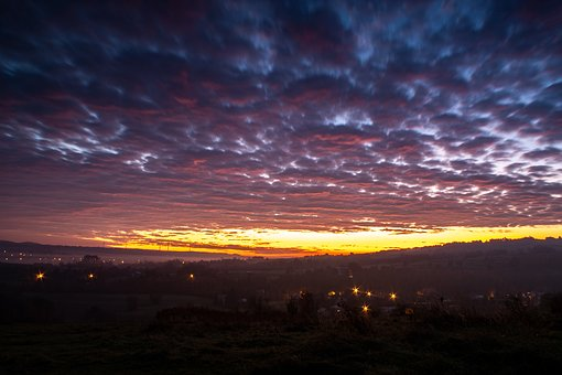 East, Morning, Landscape, Dawn, Nature, View