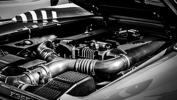 Engine, Car, Ferrari, Ferrari F355, Vehicle, Auto