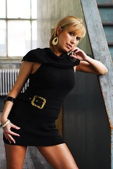 Business, Woman, Lady, Female, Model, Sandy Blonde