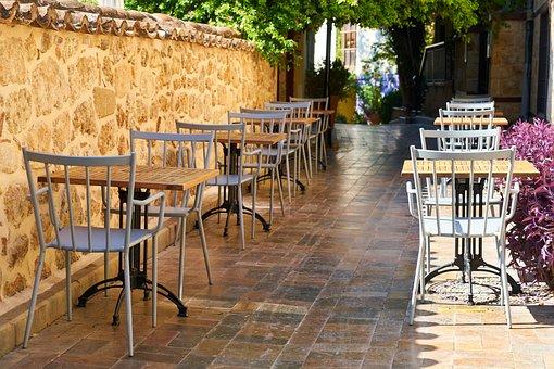Cafe, Street, Table, Chair, Restaurant, Gastronomy