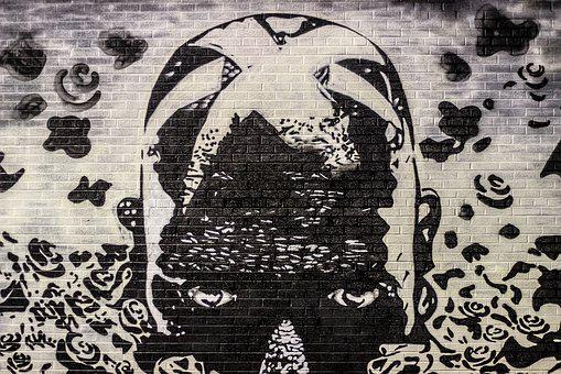 Graffiti, Street Art, Mural, Spray, Aerosol, Detroit