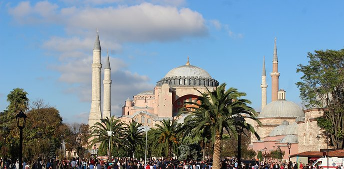 Hagia Sophia, On, Date, Historical Works, Structure