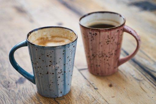 Coffee, Hot, Cup, Caffeine, Beverage, Breakfast
