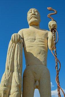 Sculpture, Man, Artwork, Statue, Stone, Figure, Human
