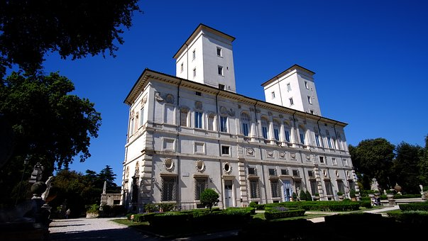 The Borghese Gallery, Rome, Italy, Villa, Museum