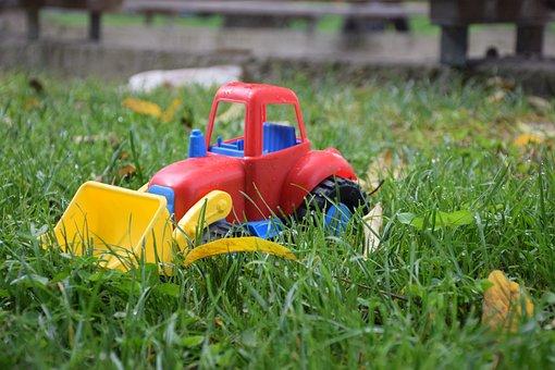 Toy, Grass, Children, Joy, Summer, Green, Cute, Girl
