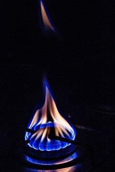 Fire, Flame, Gas, Stove, Kitchen, Heat, Burner, Hot