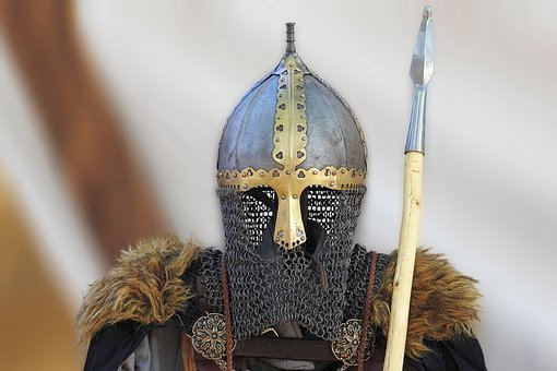 Armor, Knight, Metal, Weapon, Spear